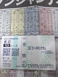 5月30日  第77回東京優駿  結果