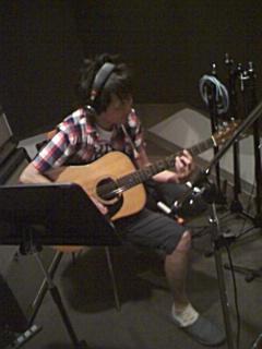 8月28日  昨日の午前中はレコーディング